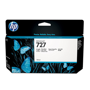 Tindikassett HP 727 (must)