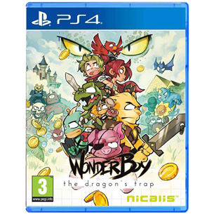PS4 mäng Wonder Boy The Dragons Trap