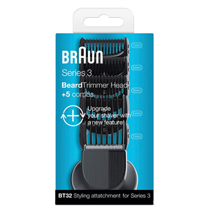 Набор насадок Shave&Style Series 3, Braun
