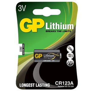 Battery CR123A, GP
