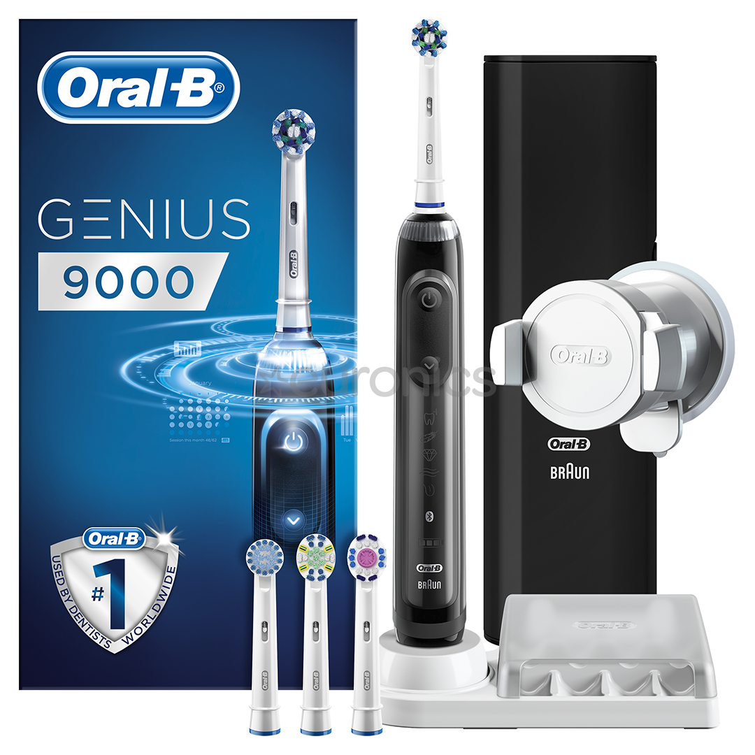 Electric toothbrush Oral-B Genius 9000, Braun, GENIUS9000