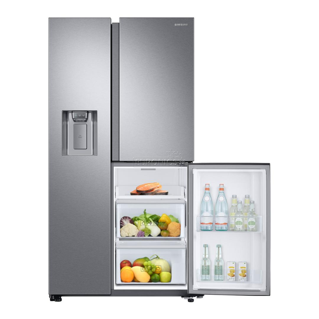 side by side refrigerator samsung height 178 cm rs68n8671sl ef. Black Bedroom Furniture Sets. Home Design Ideas
