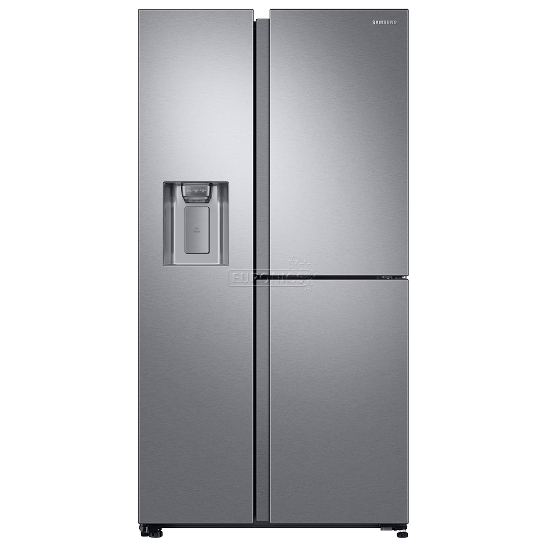 side by side refrigerator samsung height 178 cm rs68n8671sl ef. Black Bedroom Furniture Sets. Home Design Ideas