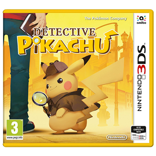 3DS game Detective Pikachu