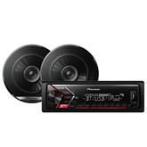 Car stereo + 13 kõlarid Pioneer