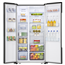 Refrigerator Side-by-Side, Hisense / height: 178,6 cm