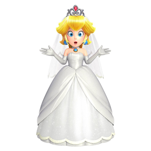 Amiibo Nintendo Super Mario Collection Wedding Peach