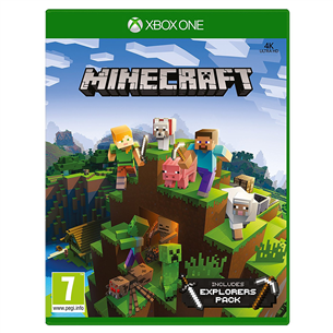 Xbox One mäng Minecraft Explorers Pack