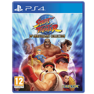 PS4 mäng Street Fighter 30th Anniversary Collection