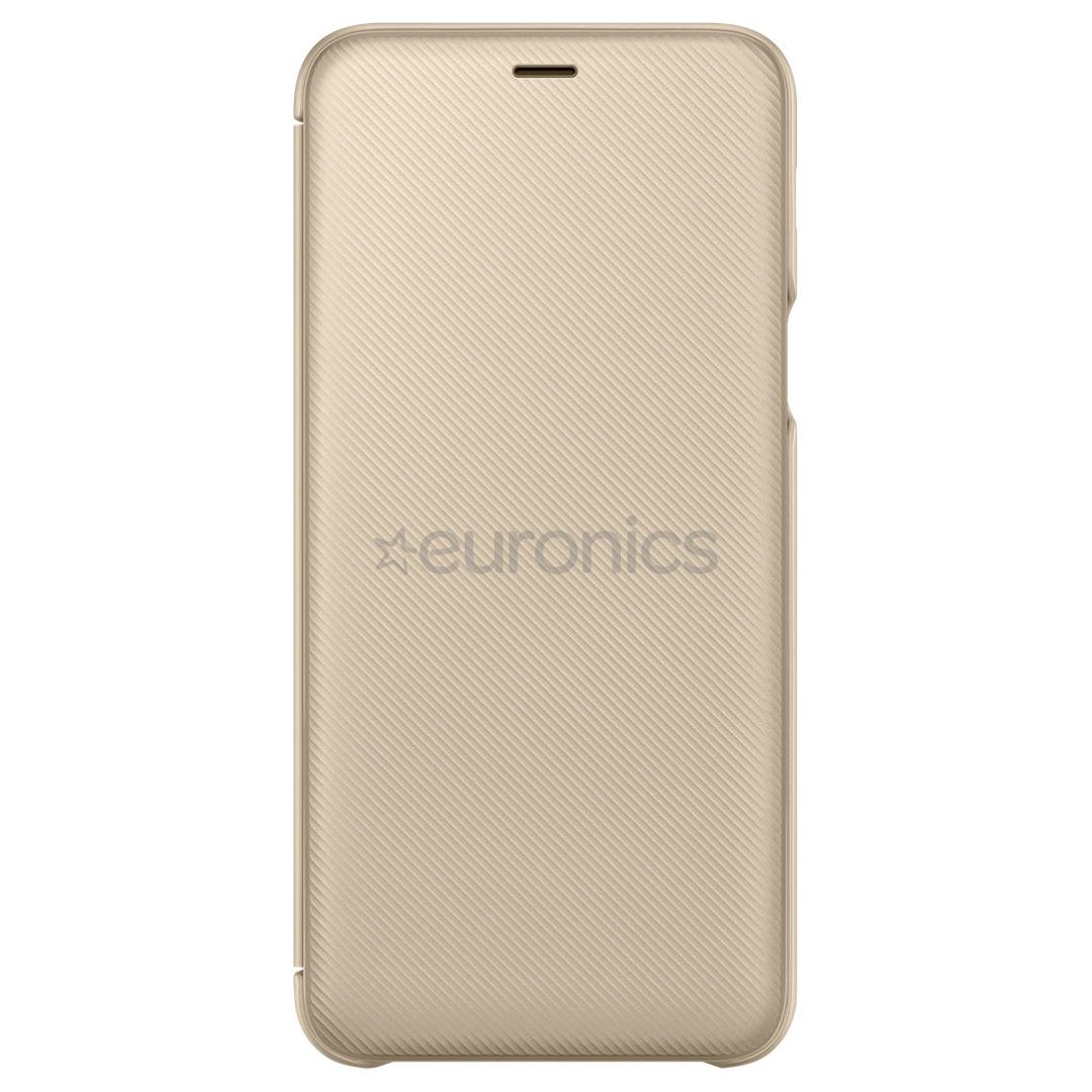 big sale 9f44a 6057f Samsung Galaxy A6+ wallet cover