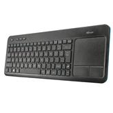 Juhtmevaba klaviatuur Trust Veza Touchpad (RUS)
