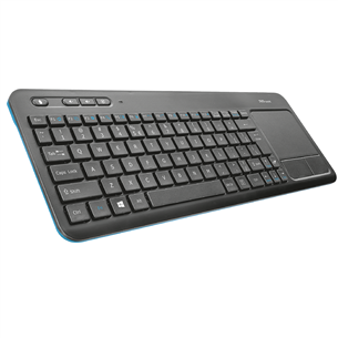 Wireless keyboard Trust Veza Touchpad (SWE)