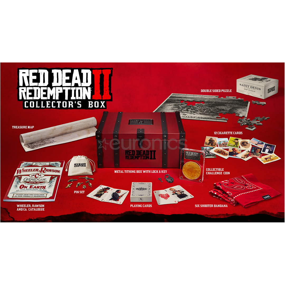 Red Dead Redemption 2 Collectors Box On Order Rdr2cbox