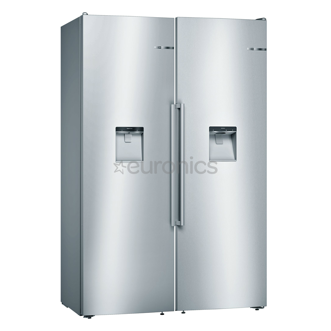 side by side refrigerator bosch ksw36bi3p gsd36bi2v. Black Bedroom Furniture Sets. Home Design Ideas