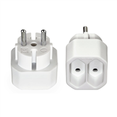 2-way plug Hama (2 pcs)