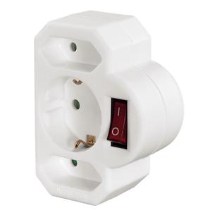 3-way plug Hama