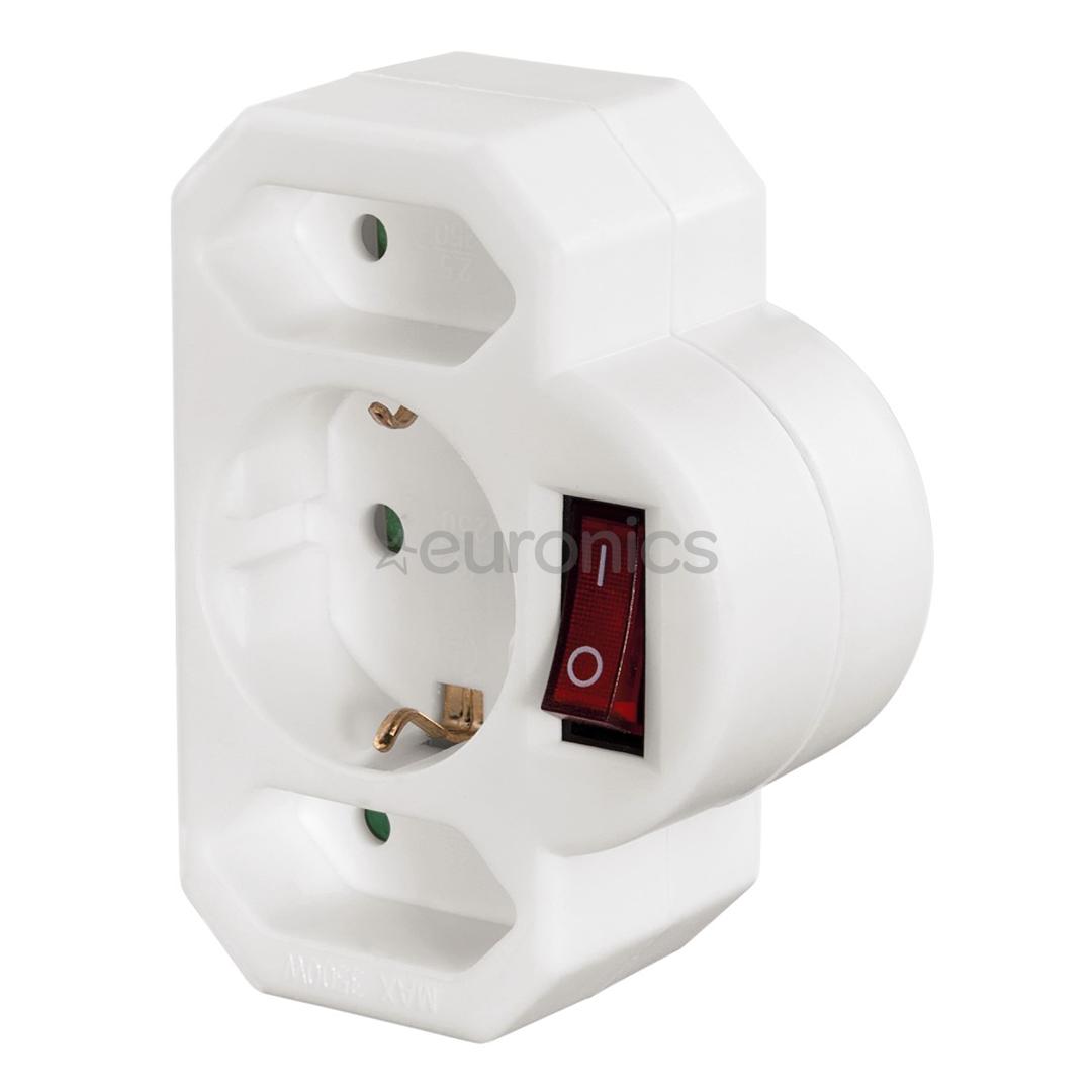 3-way plug Hama, 00047756