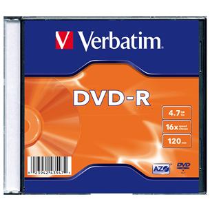 DVD-R toorik Verbatim (4,7 Gb) 435471