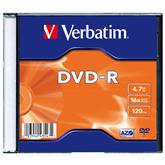 Диск DVD-R Verbatim (4,7 ГБ) / 1 шт