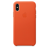 Кожаный чехол для iPhone X, Apple