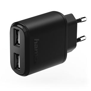 Зарядное устройство, Hama / 2x USB