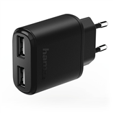 Wall charger 2x USB Hama