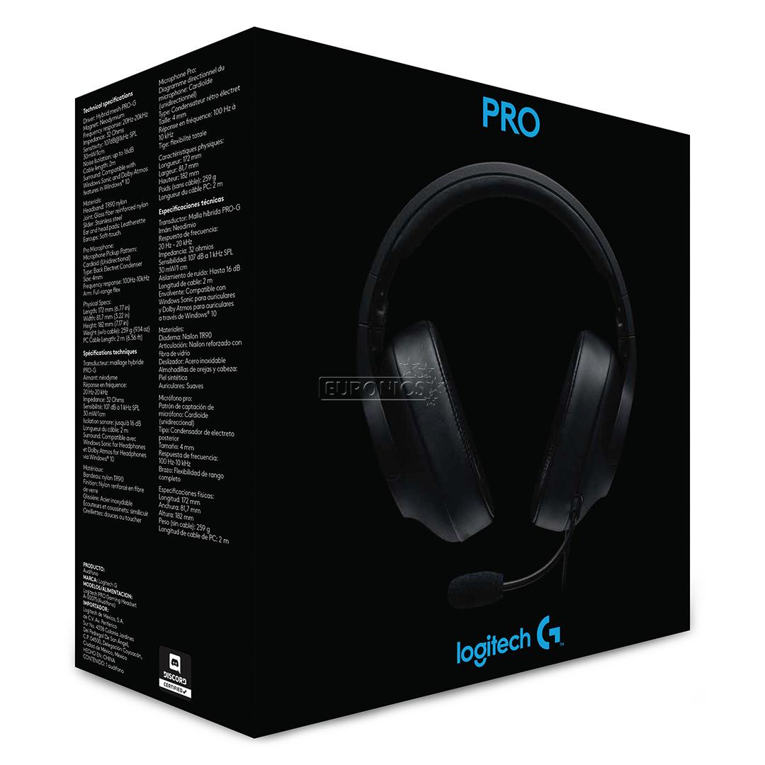 Headset Logitech G Pro 981 000721