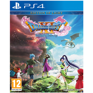 PS4 mäng Dragon Quest XI: Echoes of an Elusive Age Edition of Light