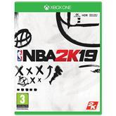 Xbox One game NBA 2K19