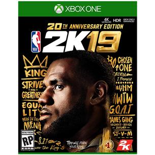 Xbox One mäng NBA 2K19 Anniversary Edition (eeltellimisel)