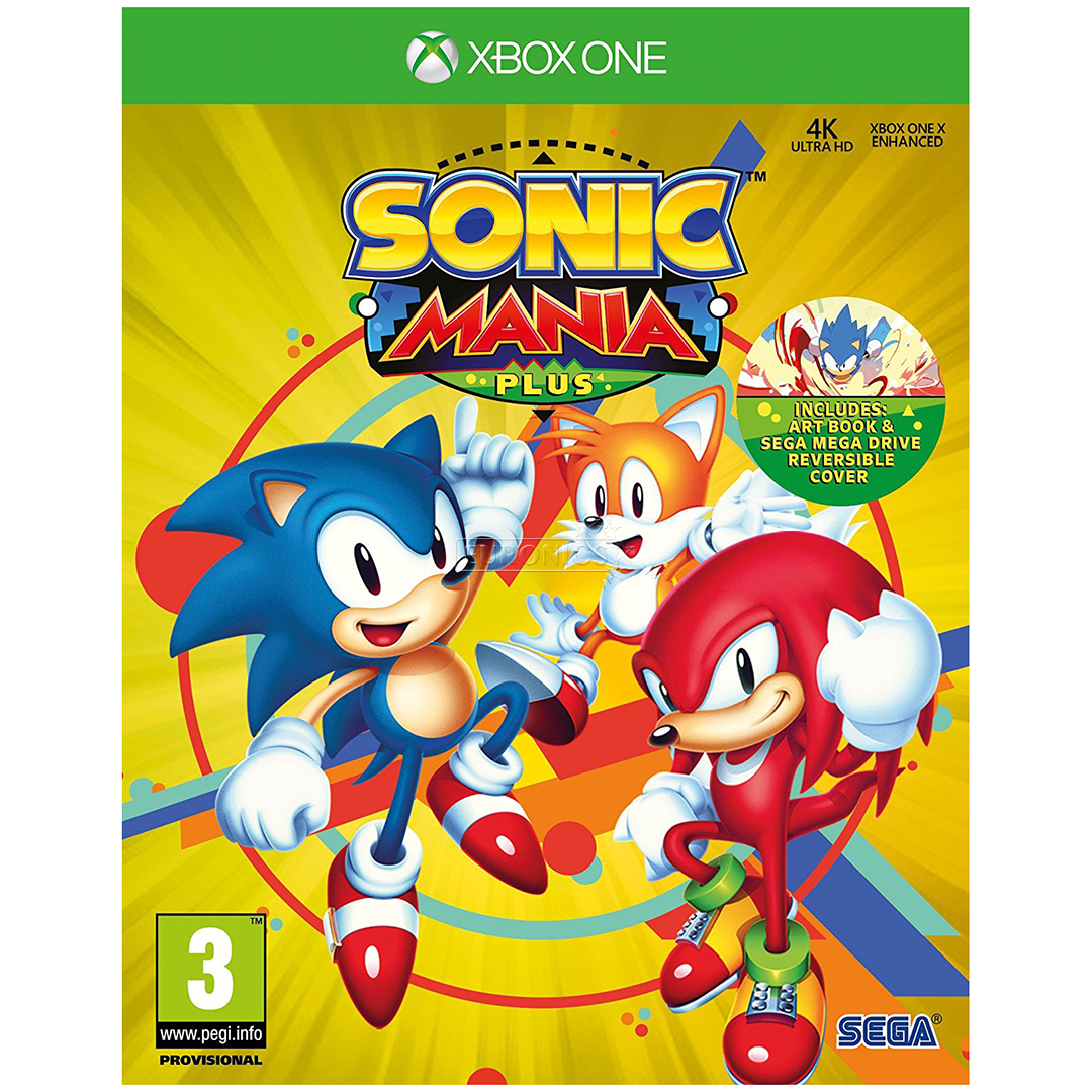 Xbox One game Sonic Mania Plus