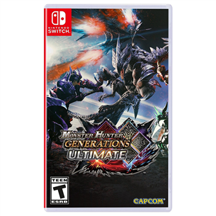 Switch mäng Monster Hunter Generations Ultimate