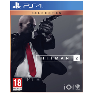 PS4 game Hitman 2 Gold Edition