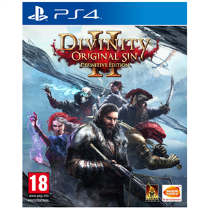 PS4 mäng Divinity: Original Sin 2 Definitive Edition