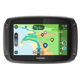 GPS for motorcycle TomTom Rider 450W + car mount and case