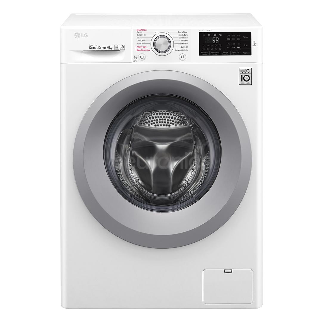 Washing Machine Lg 9 Kg F4j5vy4w F4j5vy3w