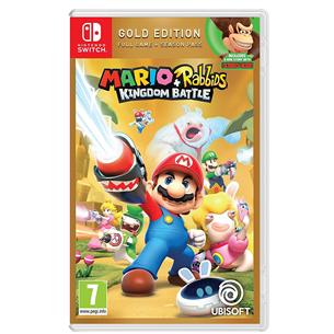 Игра для Nintendo Switch Mario + Rabbids: Kingdom Battle Gold Edition