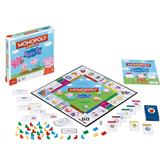 Настольная игра Monopoly Свинка Пеппа