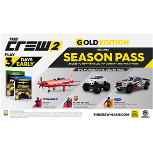 ps4 m ng the crew 2 gold edition ps4crew2g. Black Bedroom Furniture Sets. Home Design Ideas