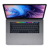Sülearvuti Apple MacBook Pro 2018 / 15, 512 GB, SWE