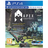 PS4 VR game Apex Construct