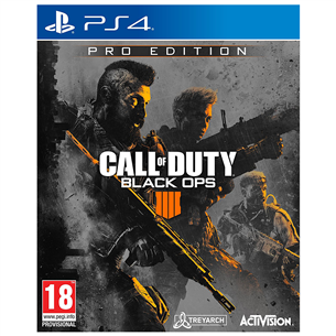 PS4 mäng Call of Duty Black Ops 4 Pro Edition