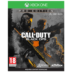 Xbox One mäng Call of Duty Black Ops 4 Pro Edition (eeltellimisel)