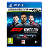 PS4 mäng F1 2018 Headline Edition