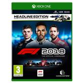 Xbox One mäng F1 2018 Headline Edition (eeltellimisel)