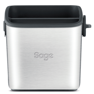 Stainless steel grinds bin Sage