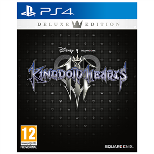 PS4 mäng Kingdom Hearts III Deluxe Edition