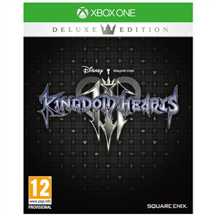 Xbox One mäng Kingdom Hearts III Deluxe Edition (eeltellimisel)