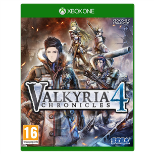 Xbox One mäng Valkyria Chronicles 4