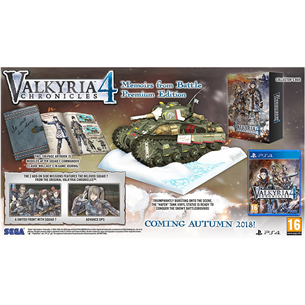 PS4 mäng Valkyria Chronicles 4 Memoirs from Battle Premium Edition (eeltellimisel)